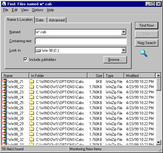 NetFAQs: Windows - Dial Up Connections - Windows 98