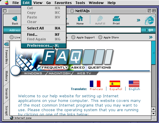 NetFAQs: Macintosh - Web Browsers