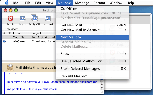 all mail create account