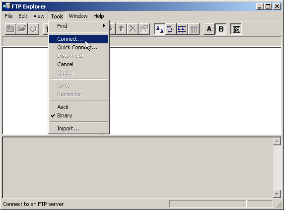 how to open ftp in windows explorer by default