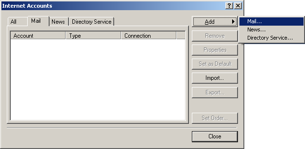 how to find incoming mail server for outlook